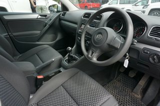 2009 Volkswagen Golf VI MY10 90TSI Trendline Silver 6 Speed Manual Hatchback