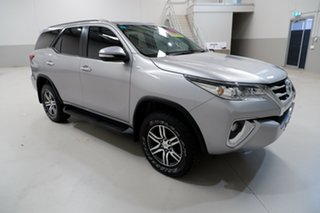 2016 Toyota Fortuner GUN156R GXL Silver 6 Speed Automatic Wagon
