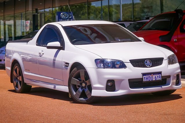 Used Holden Ute VE II SS Thunder Gosnells, 2011 Holden Ute VE II SS Thunder White 6 Speed Sports Automatic Utility