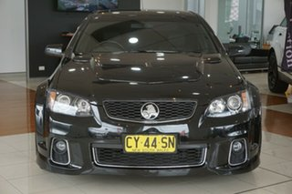 2012 Holden Commodore VE II MY12 SS V Black 6 Speed Manual Sedan.