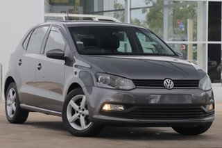 2016 Volkswagen Polo 6R MY17 66TSI Trendline Pepper Gray 5 Speed Manual Hatchback.