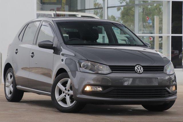 Used Volkswagen Polo 6R MY17 66TSI Trendline Bundamba, 2016 Volkswagen Polo 6R MY17 66TSI Trendline Pepper Gray 5 Speed Manual Hatchback