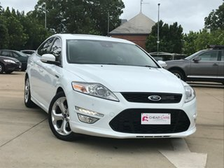 2011 Ford Mondeo MC Titanium EcoBoost White 6 Speed Sports Automatic Dual Clutch Hatchback.