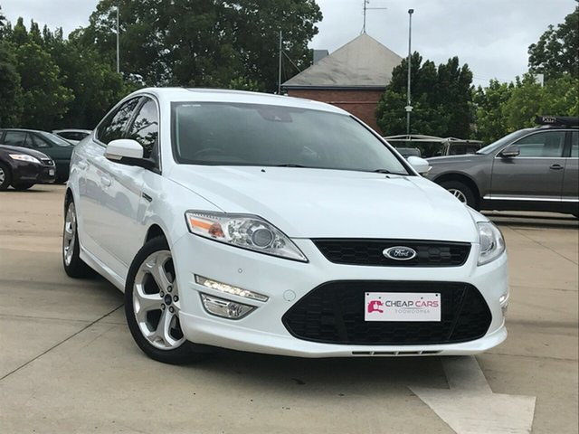 Used Ford Mondeo MC Titanium EcoBoost Toowoomba, 2011 Ford Mondeo MC Titanium EcoBoost White 6 Speed Sports Automatic Dual Clutch Hatchback