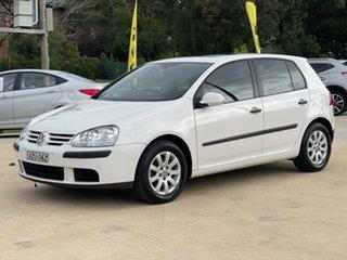 2006 Volkswagen Golf Comfortline White Sports Automatic Dual Clutch Hatchback