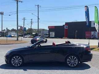 2012 Lexus IS GSE20R IS250 C Sports Luxury Black 6 Speed Sports Automatic Convertible.