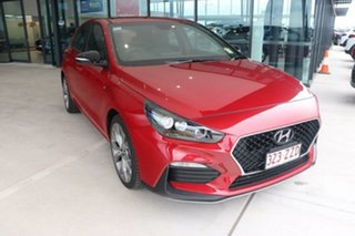 2020 Hyundai i30 PD.V4 MY21 N Line D-CT Fiery Red 7 Speed Sports Automatic Dual Clutch Hatchback.
