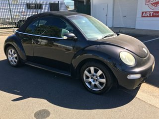 2004 Volkswagen Beetle 1Y MY2005 Black 6 Speed Sports Automatic Cabriolet.