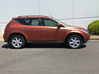 2005 Nissan Murano Z50 TI Orange 6 Speed Constant Variable Wagon.