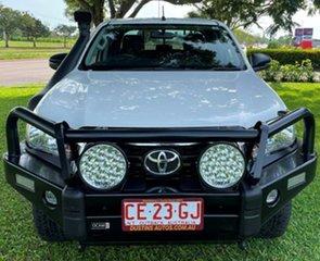 2018 Toyota Hilux GUN136R SR Double Cab 4x2 Hi-Ride White 6 Speed Manual Utility