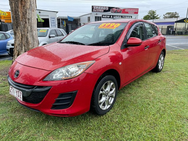 Used Mazda 3 BL10F1 Maxx Activematic Clontarf, 2009 Mazda 3 BL10F1 Maxx Activematic Red 5 Speed Sports Automatic Hatchback