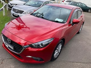 2017 Mazda 3 BN5478 Maxx SKYACTIV-Drive Red 6 Speed Sports Automatic Hatchback.