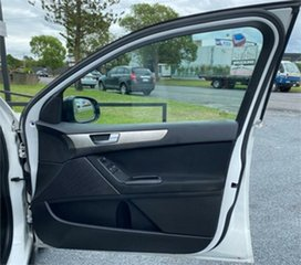 2012 Ford Falcon FG MkII White 6 Speed Automatic Cab Chassis