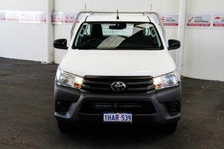 Toyota Hilux Glacier White Cab Chassis