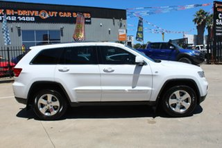 2013 Jeep Grand Cherokee WK MY13 Limited (4x4) White 5 Speed Automatic Wagon