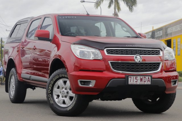 Used Holden Colorado RG MY16 LS-X Crew Cab Rocklea, 2015 Holden Colorado RG MY16 LS-X Crew Cab Sizzle 6 Speed Sports Automatic Utility