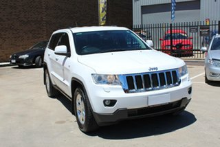 2013 Jeep Grand Cherokee WK MY13 Limited (4x4) White 5 Speed Automatic Wagon.
