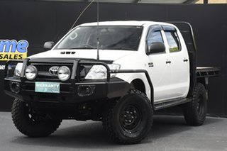 2008 Toyota Hilux KUN26R MY09 SR 5 Speed Manual Cab Chassis.