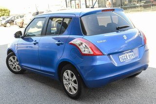 2015 Suzuki Swift FZ MY15 GL Navigator Blue 4 Speed Automatic Hatchback.