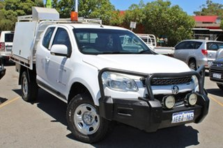 2013 Holden Colorado RG MY13 LTZ Space Cab White 6 Speed Sports Automatic Utility