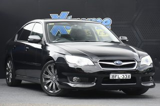 2008 Subaru Liberty B4 MY08 3.0R AWD Spec.B Black 5 Speed Sports Automatic Sedan.