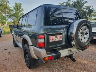 1999 Nissan Patrol GU ST Green 4 Speed Automatic Wagon