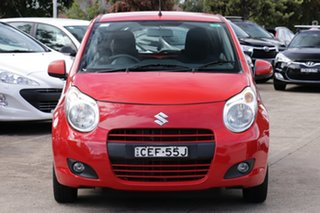 2012 Suzuki Alto GF GL Red 4 Speed Automatic Hatchback