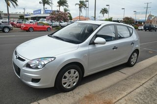 2012 Hyundai i30 GD Active Silver 6 Speed Automatic Hatchback.