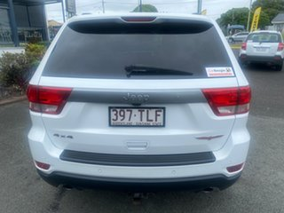 2013 Jeep Grand Cherokee WK MY2013 Trailhawk White 5 Speed Sports Automatic Wagon