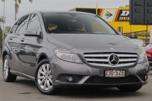 Used Mercedes-Benz B-Class W246 B180 BlueEFFICIENCY DCT Rocklea, 2012 Mercedes-Benz B-Class W246 B180 BlueEFFICIENCY DCT Mountain Grey 7 Speed