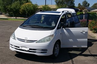 2000 Toyota Tarago ACR30R Ultima White 4 Speed Automatic Wagon