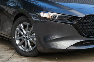 2020 Mazda 3 BP2H7A G20 SKYACTIV-Drive Pure Machine Grey 6 Speed Sports Automatic Hatchback.