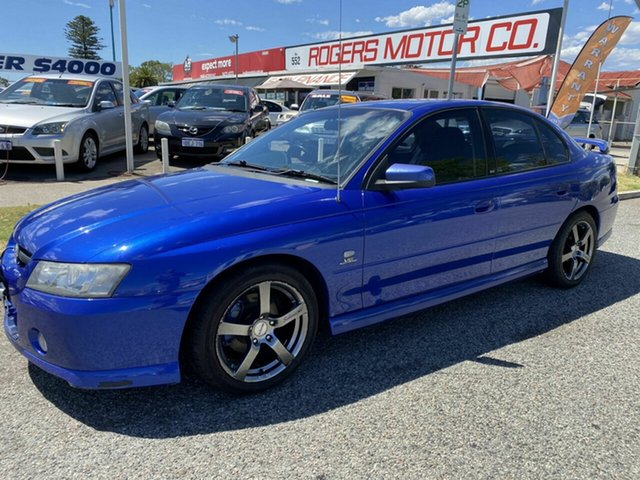 Used Holden Commodore VZ SV6 Victoria Park, 2005 Holden Commodore VZ SV6 Blue 5 Speed Auto Active Select Sedan