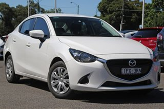 2016 Mazda 2 DL2SAA Neo SKYACTIV-Drive White 6 Speed Sports Automatic Sedan.