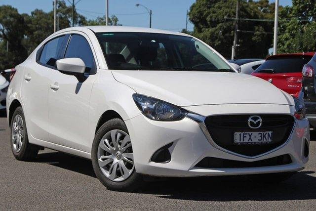 Used Mazda 2 DL2SAA Neo SKYACTIV-Drive Nunawading, 2016 Mazda 2 DL2SAA Neo SKYACTIV-Drive White 6 Speed Sports Automatic Sedan