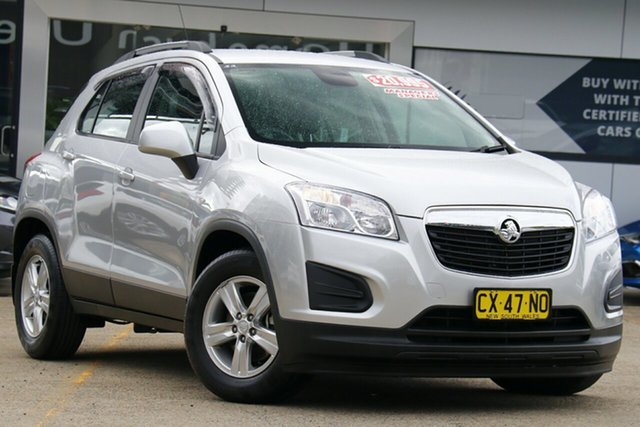 Used Holden Trax TJ MY16 LS Homebush, 2015 Holden Trax TJ MY16 LS Silver 6 Speed Automatic Wagon