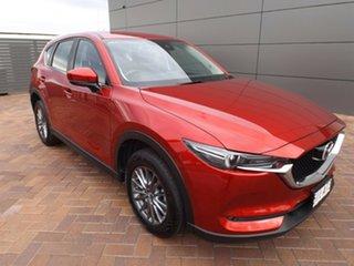 2017 Mazda CX-5 KF2W7A Maxx SKYACTIV-Drive FWD Sport Red 6 Speed Sports Automatic Wagon.