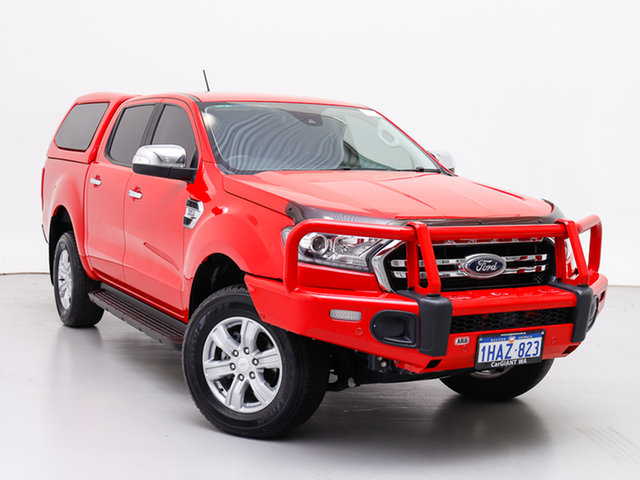 Used Ford Ranger PX MkIII MY19 XLT 3.2 (4x4), 2018 Ford Ranger PX MkIII MY19 XLT 3.2 (4x4) Red 6 Speed Automatic Double Cab Pick Up