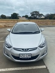 2014 Hyundai Elantra MD3 Trophy Silver 6 Speed Sports Automatic Sedan.