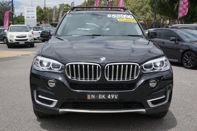 Used BMW X5 F15 xDrive25d Phillip, 2015 BMW X5 F15 xDrive25d Black 8 Speed Automatic Wagon