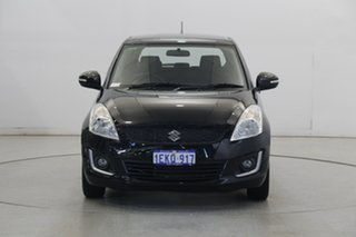 2014 Suzuki Swift FZ MY14 GL Navigator Black 4 Speed Automatic Hatchback.