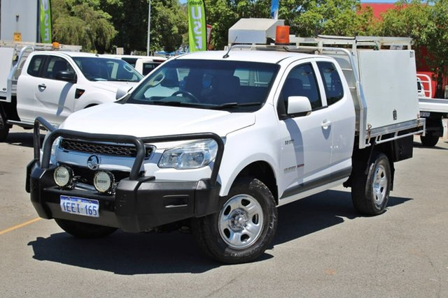 Used Holden Colorado RG MY13 LTZ Space Cab Midland, 2013 Holden Colorado RG MY13 LTZ Space Cab White 6 Speed Sports Automatic Utility