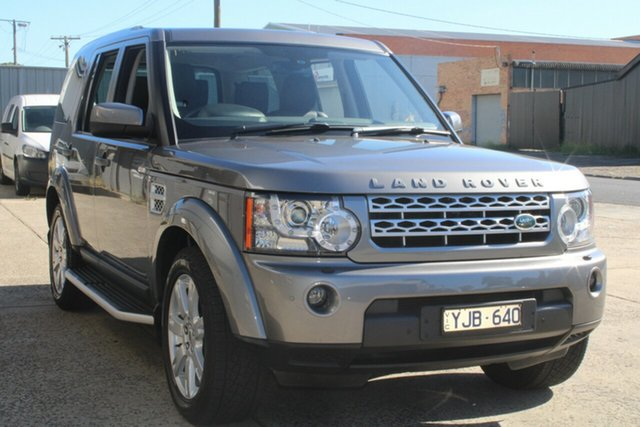 Used Land Rover Discovery 4 MY11 3.0 SDV6 SE West Footscray, 2011 Land Rover Discovery 4 MY11 3.0 SDV6 SE 6 Speed Automatic Wagon