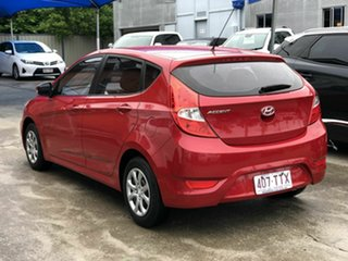 2013 Hyundai Accent RB2 Active Red 4 Speed Sports Automatic Hatchback.