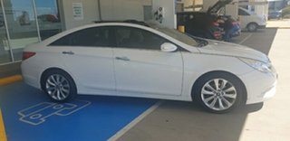 2011 Hyundai i45 YF MY11 Premium White 6 Speed Sports Automatic Sedan.
