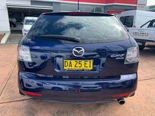 2010 Mazda CX-7 ER MY10 Diesel Sports (4x4) Blue 6 Speed Manual Wagon