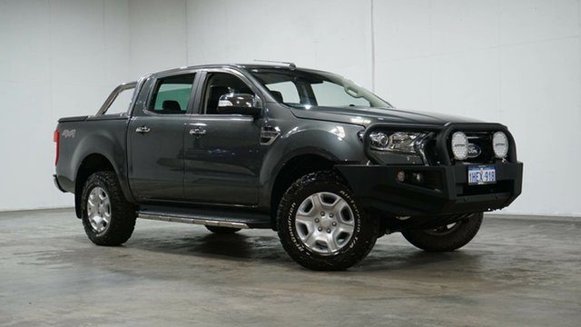Used Ford Ranger PX MkII XLT Double Cab Welshpool, 2017 Ford Ranger PX MkII XLT Double Cab Grey 6 Speed Sports Automatic Utility
