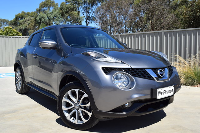 Used Nissan Juke F15 Series 2 Ti-S 2WD Echuca, 2016 Nissan Juke F15 Series 2 Ti-S 2WD Graphite 6 Speed Manual Hatchback