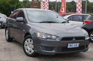 2010 Mitsubishi Lancer CJ MY11 ES Sportback Grey 6 Speed Constant Variable Hatchback.