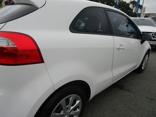 2012 Kia Rio UB MY12 S White 4 Speed Sports Automatic Hatchback